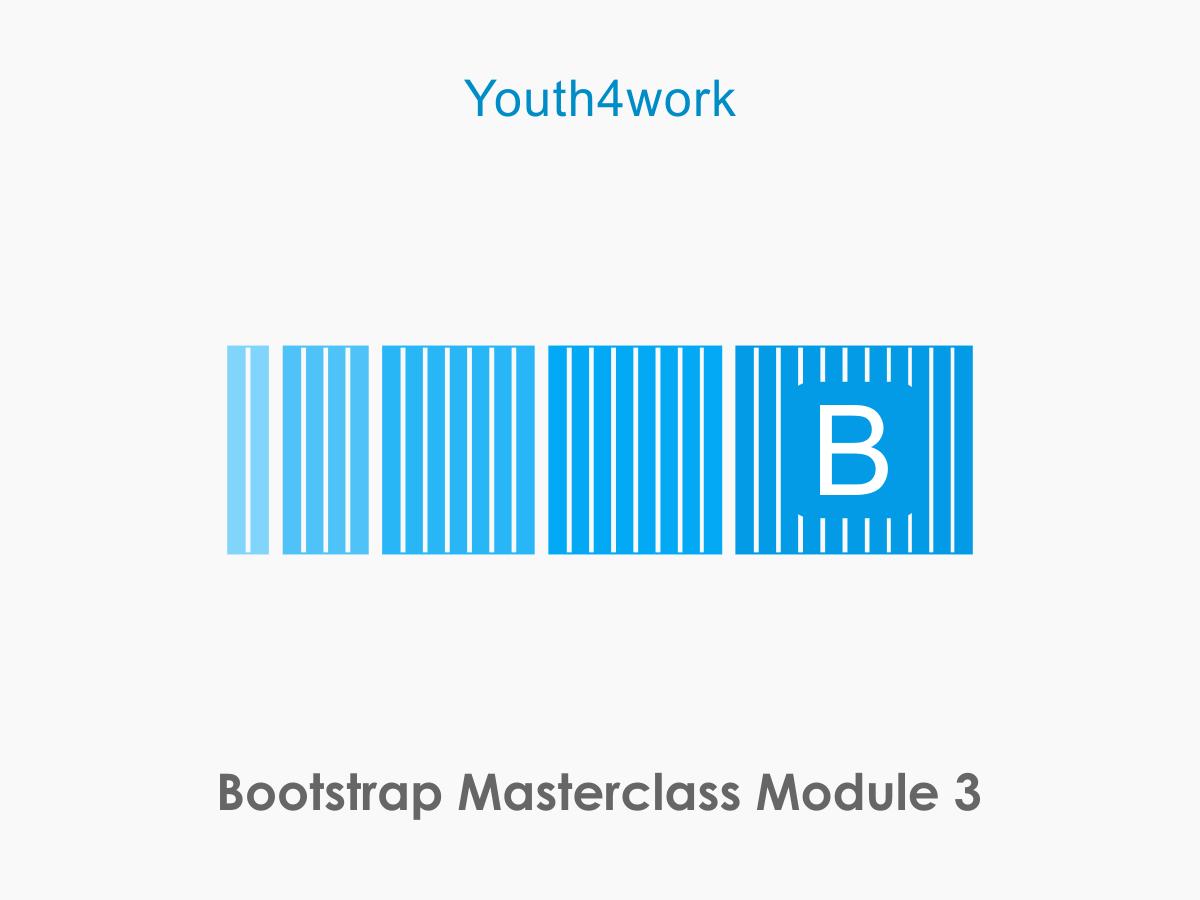 Bootstrap Masterclass Module 3