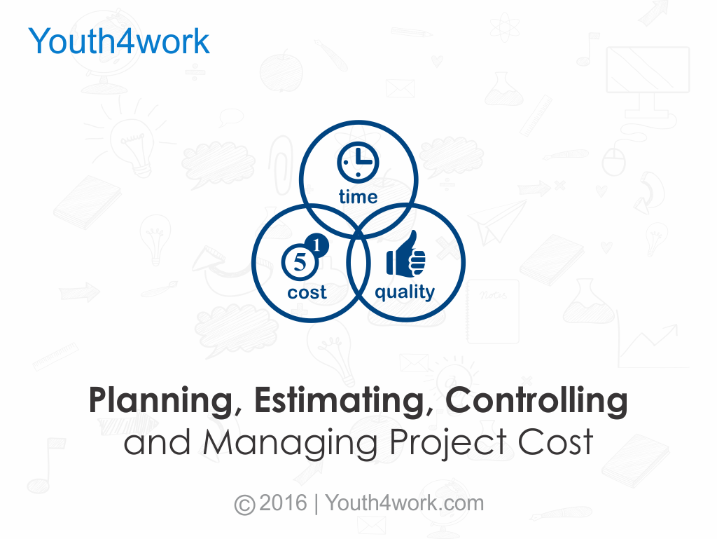 Planning, Estimating, Controlling and Managing Project Cost