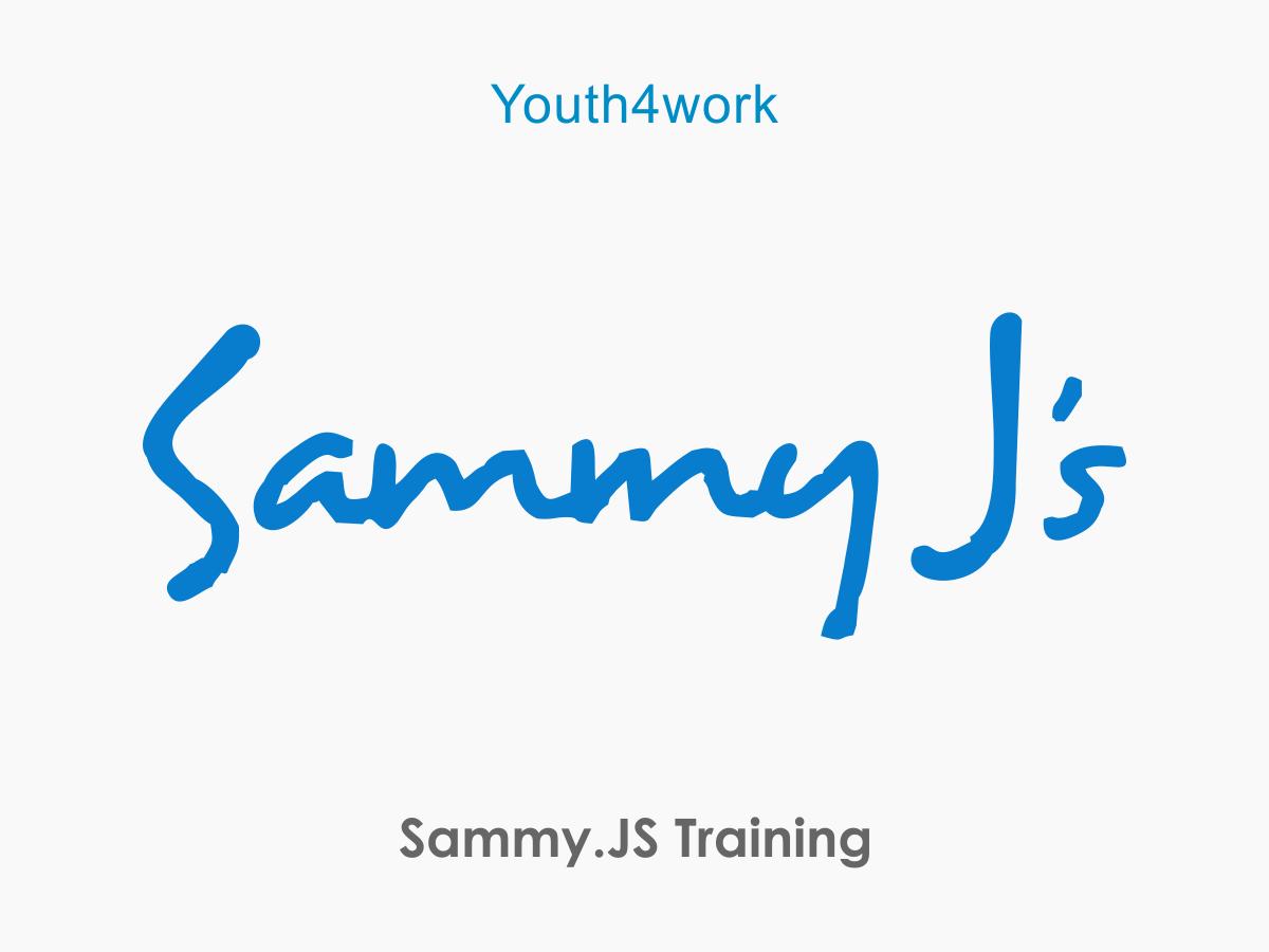 Sammy.JS Training