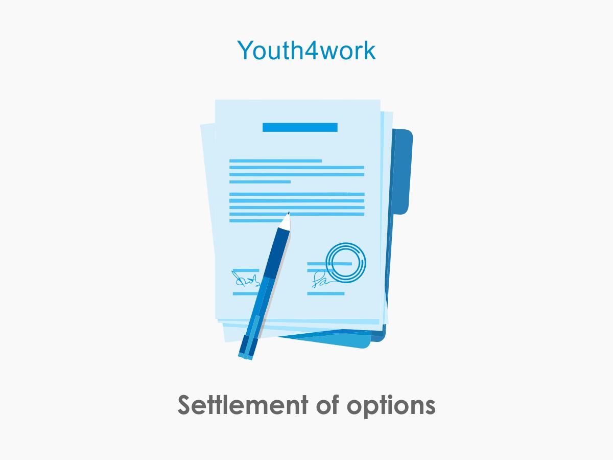 Settlement of Options