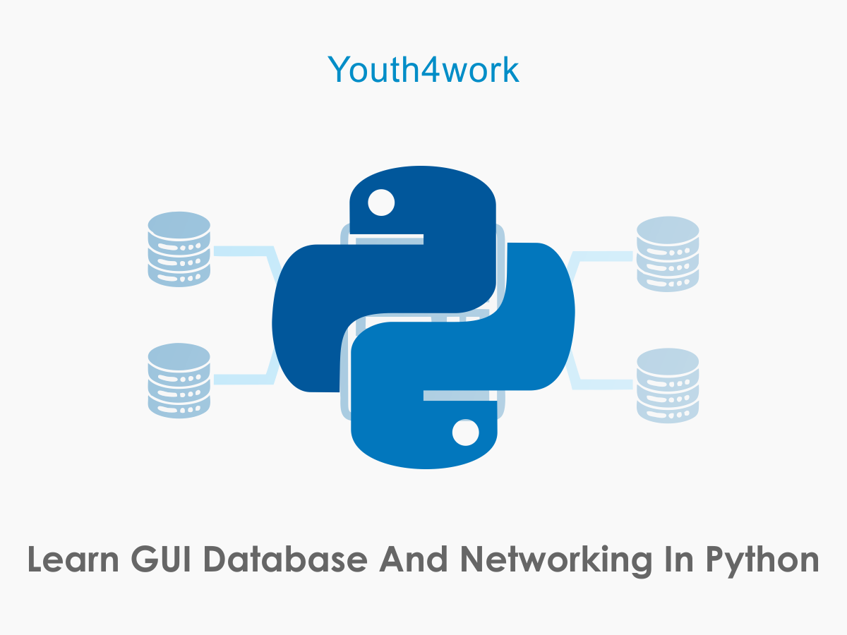 Learn GUI Database and Networking in Python