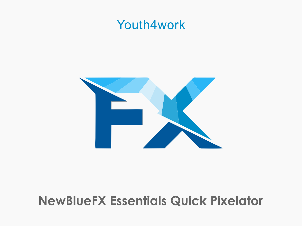 NewBlueFX Essentials  Quick Pixelator