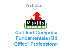 VSkills Certified Computer Fundamentals (MS Office) Professional