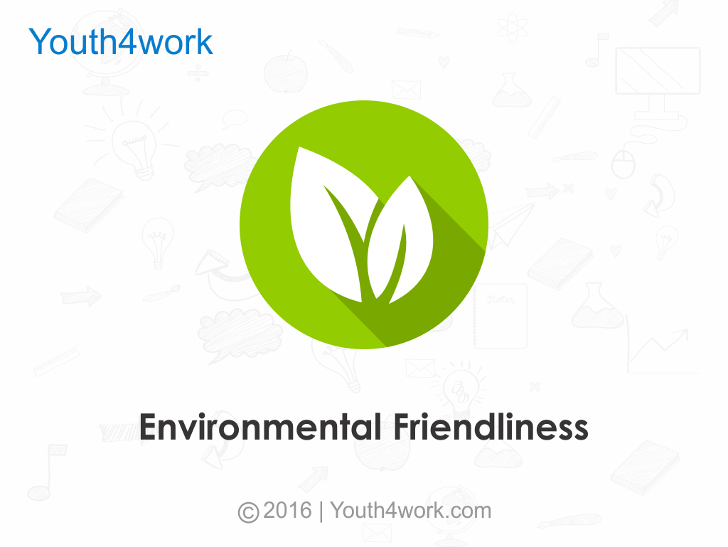 Learn Environmental Friendliness