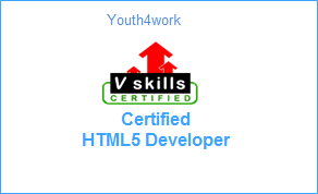 VSkills Certified HTML5 Developer