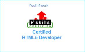 VSkills Certified HTML5 Developer