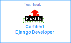 Vskills Certified Django Developer