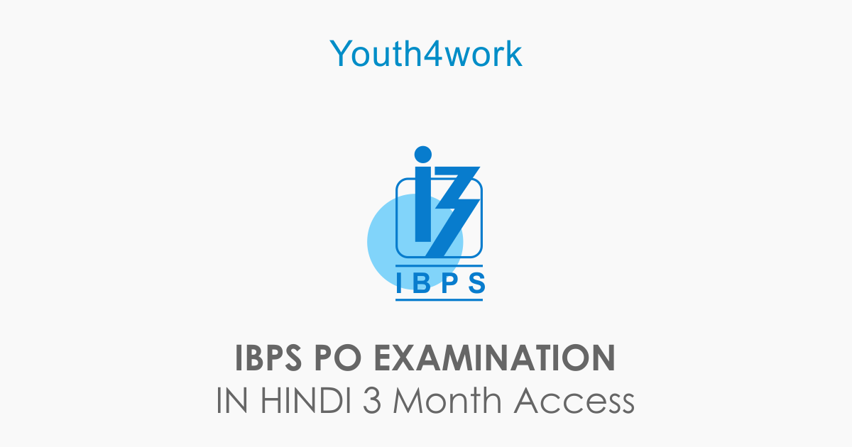 IBPS PO EXAMINATION IN HINDI