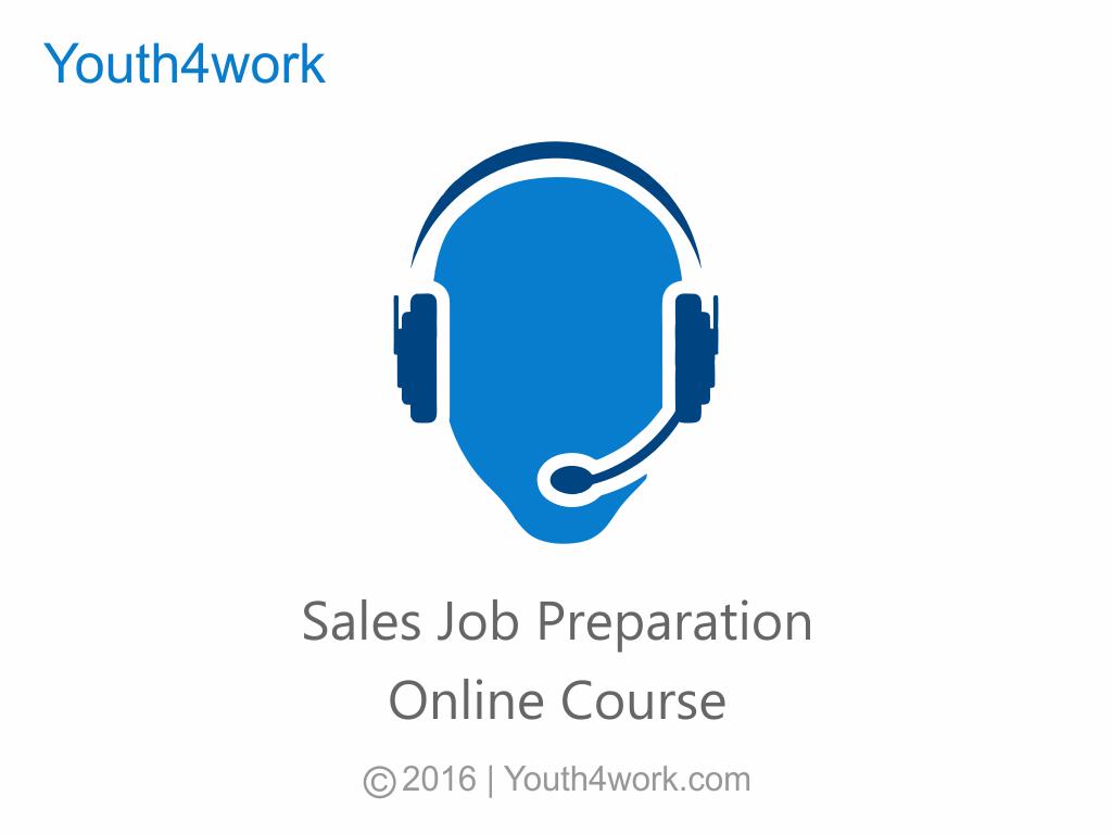 Sales Job Preparation Course