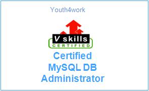 Vskills Certified MySQL DB Administrator
