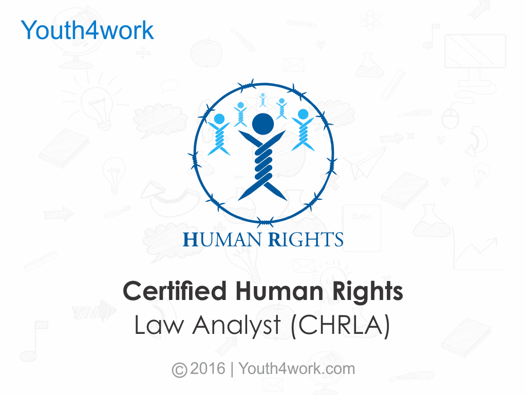 Certified Human Rights Law Analyst (CHRLA)