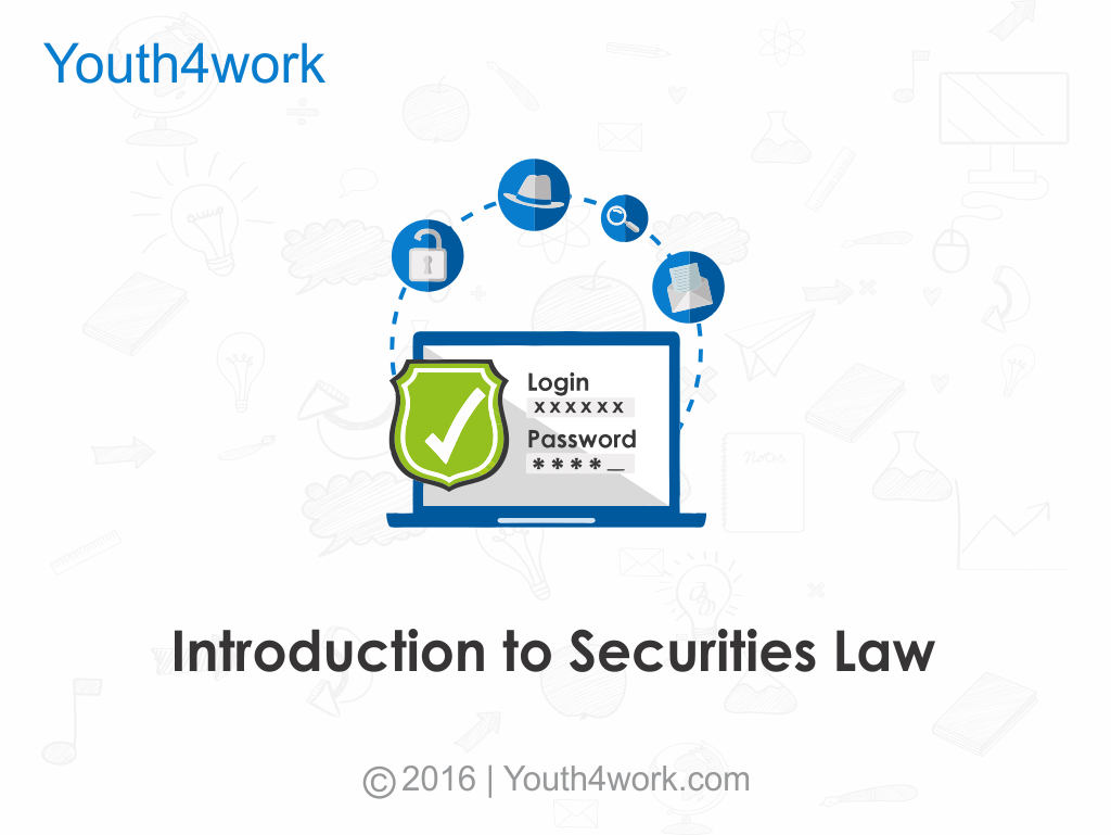 Introduction to Securities Law