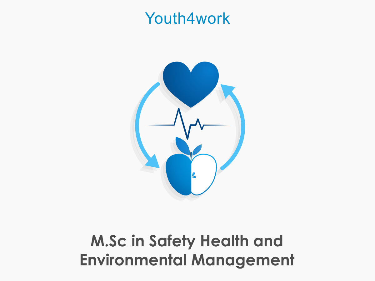 M.Sc in Safety Heath and Environmental Management