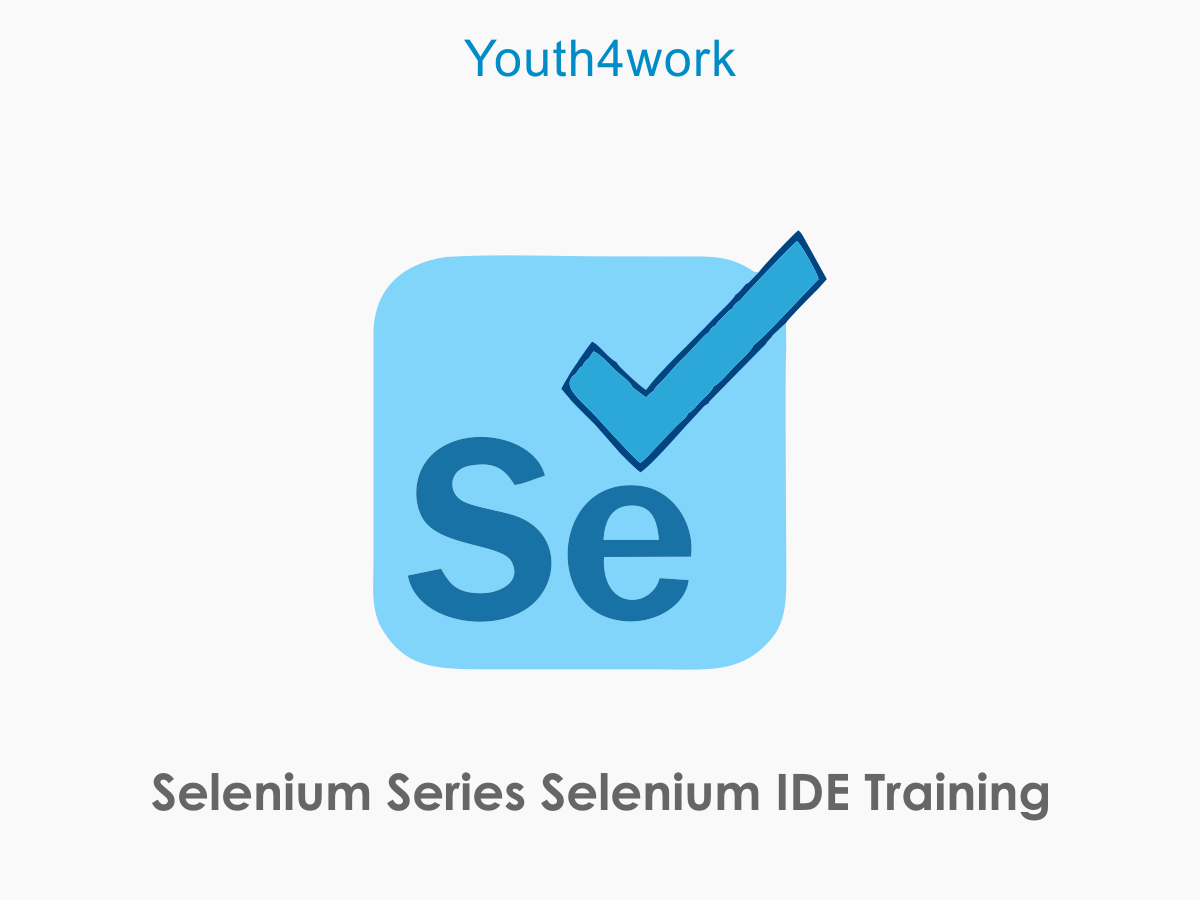 Selenium Series IDE Training