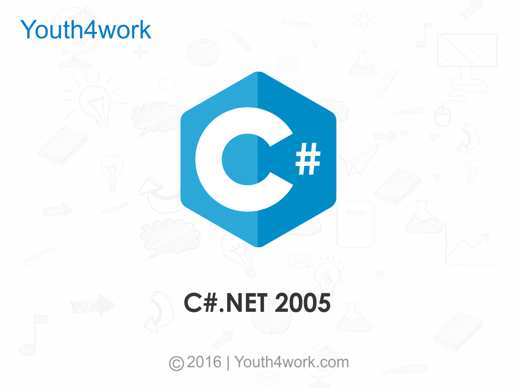 C sharp dot net 2005