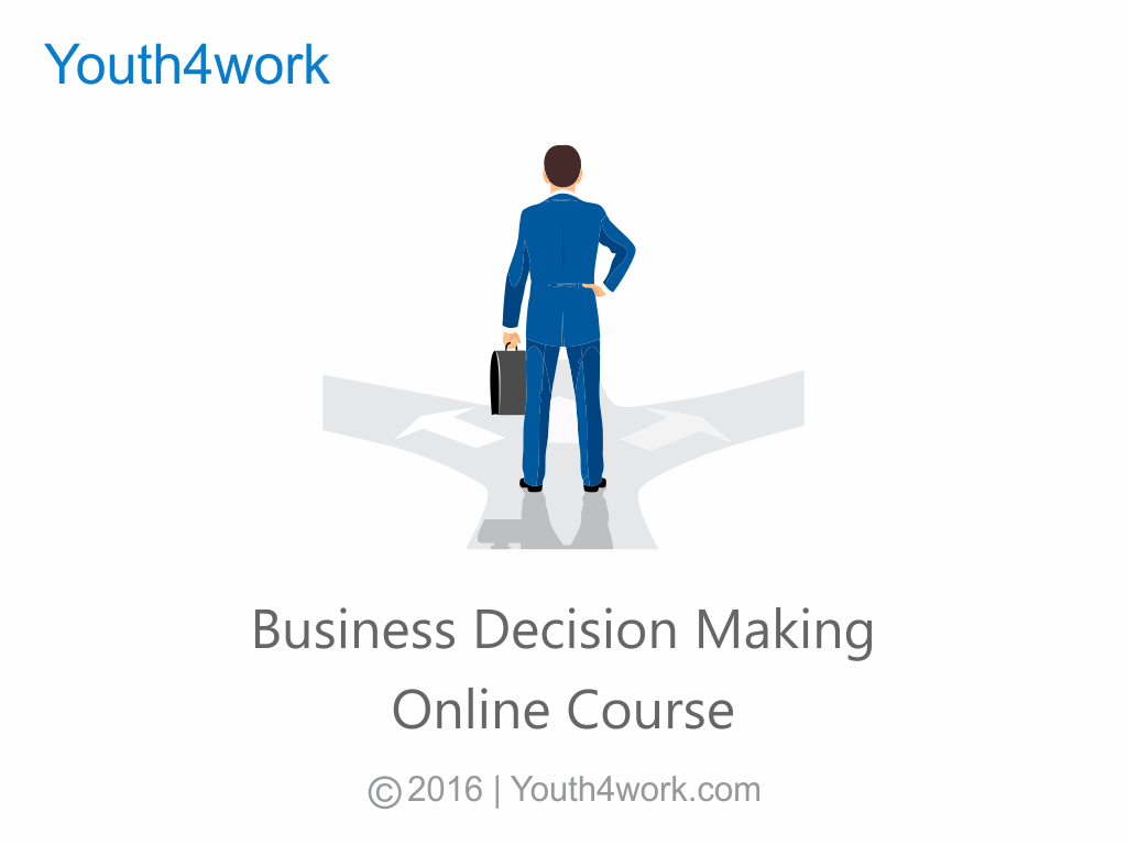 Business Decision Making Online Course