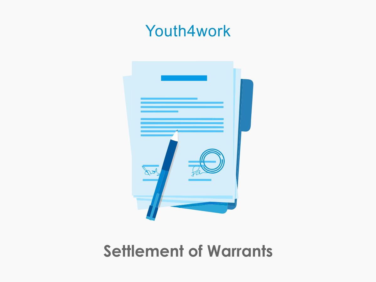 Settlement of Warrants
