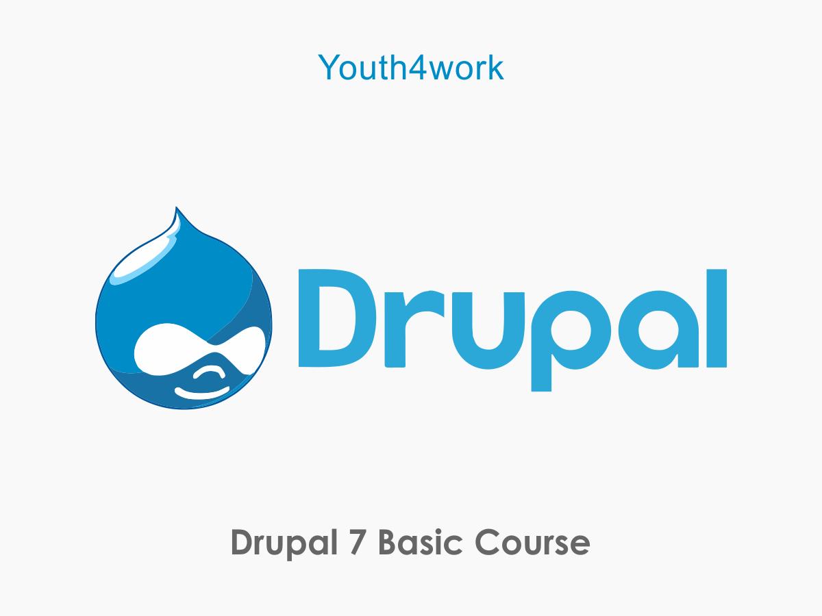 Drupal 7 Basic Course