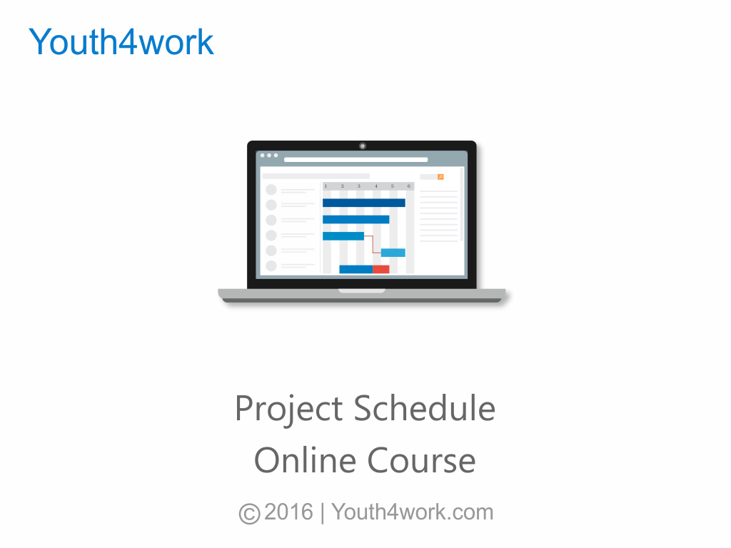 Project Schedule Online Course