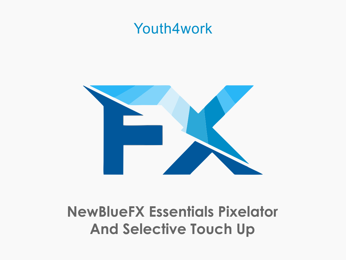 NewBlueFX Essentials  Pixelator and Selective Touch up