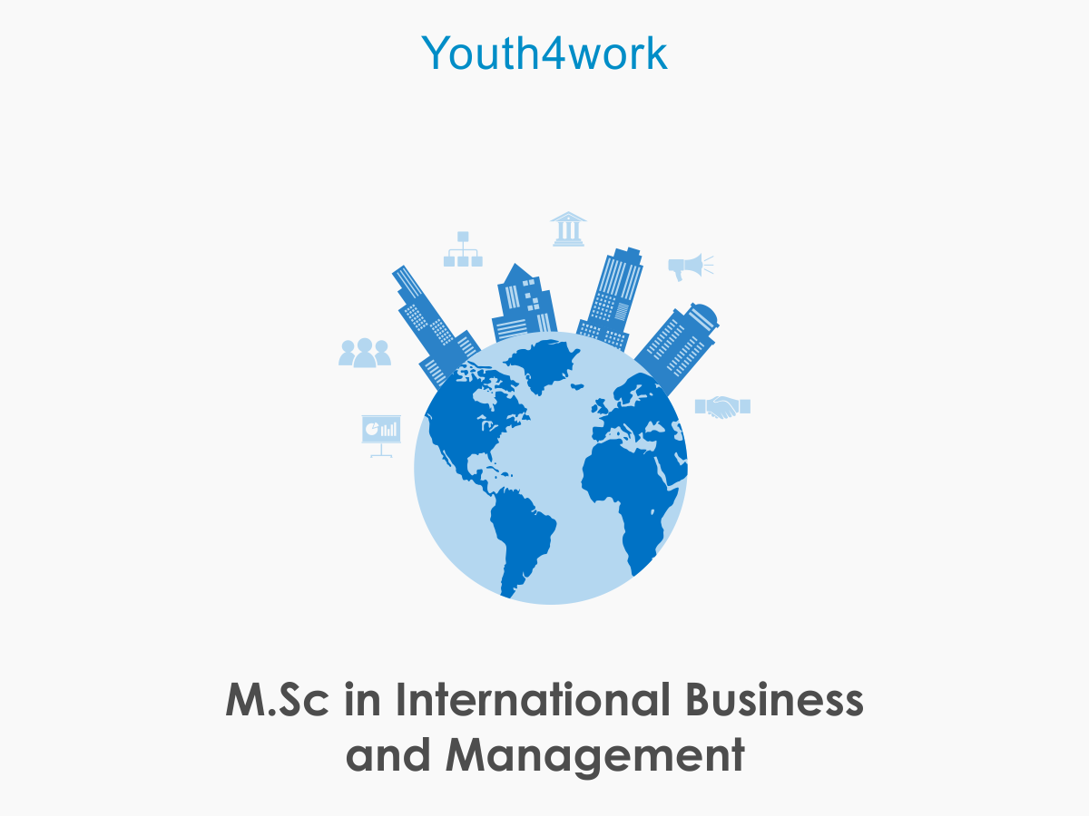 M.Sc in International Business and Management