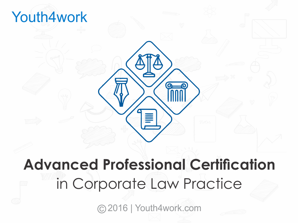 Advanced Professional Certification in Corporate Law Practice