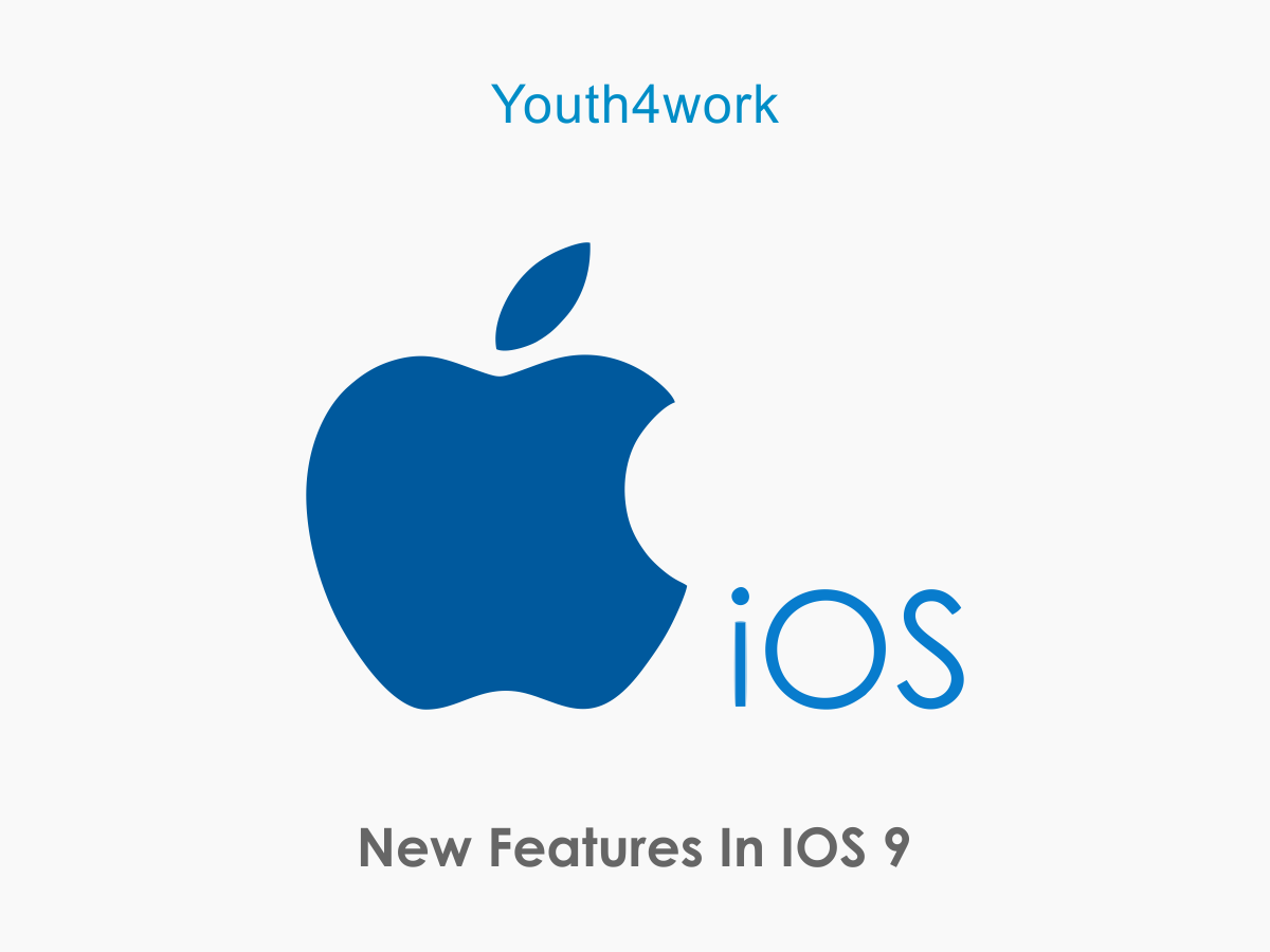 iOS 9- New Features
