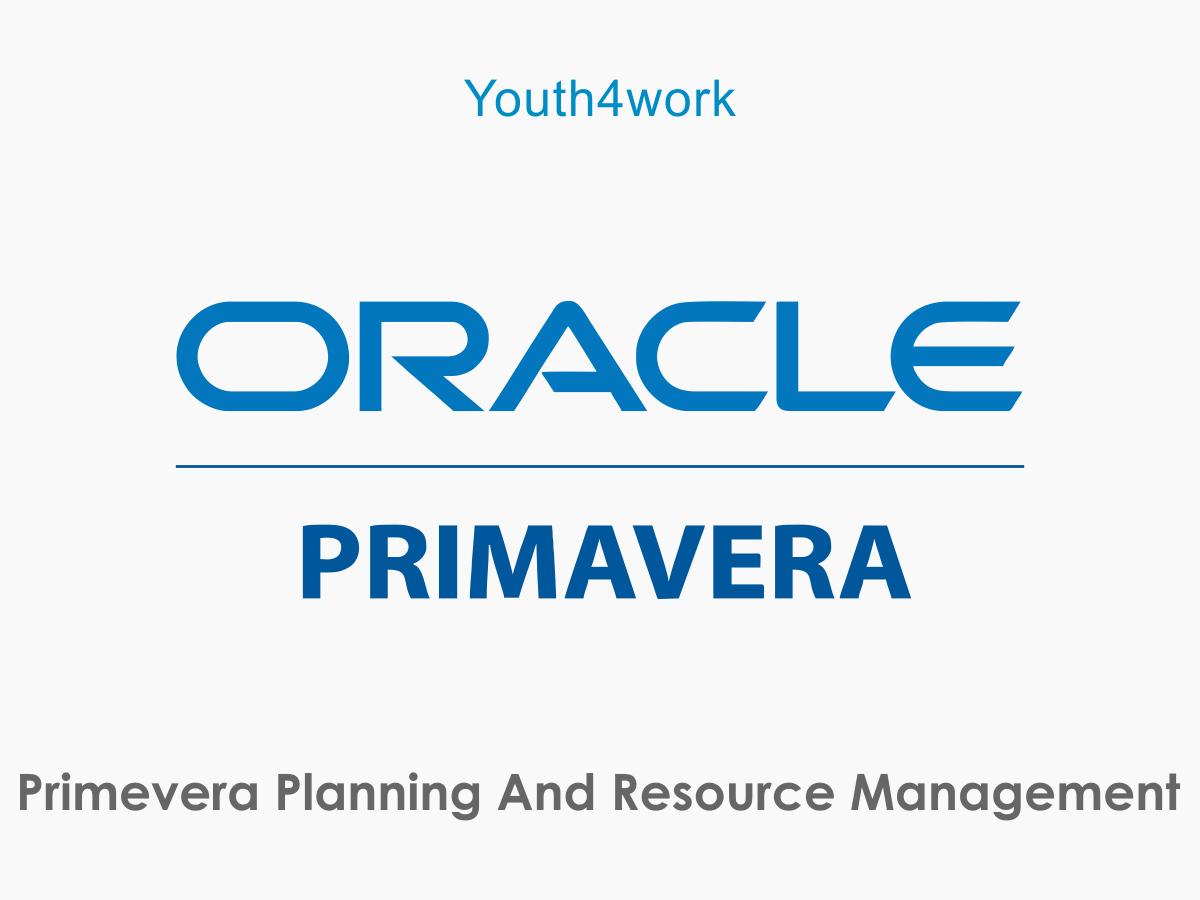 Primevera Planning and Resource Management