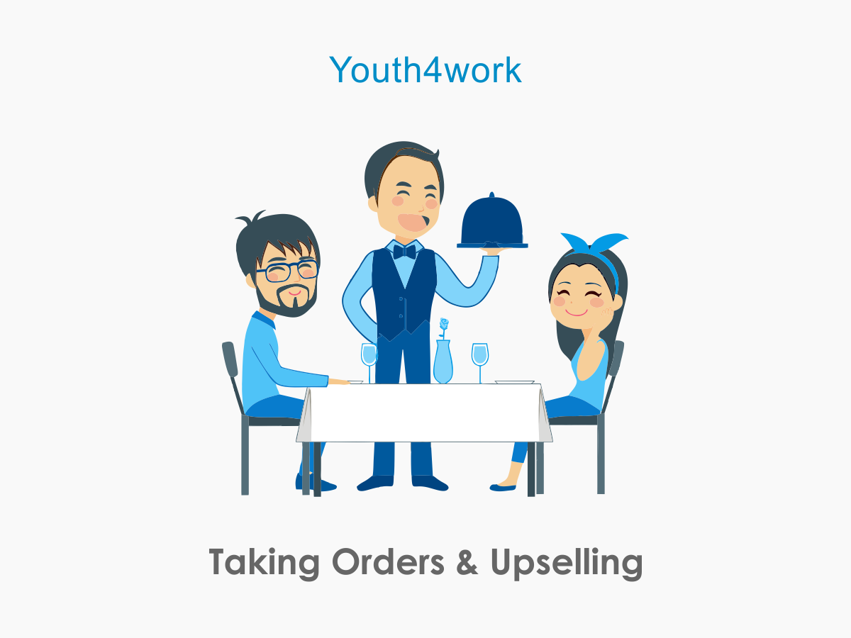 Taking Orders and Upselling