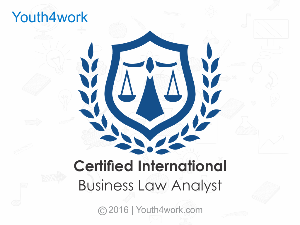 Certified International Business Law Analyst