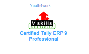 Vskills Certified Tally ERP 9 Professional
