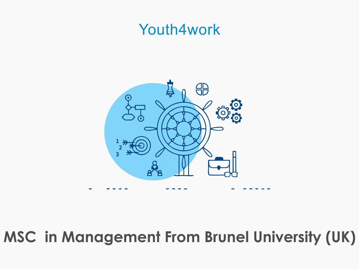 MSC in Management From Brunel University (UK)
