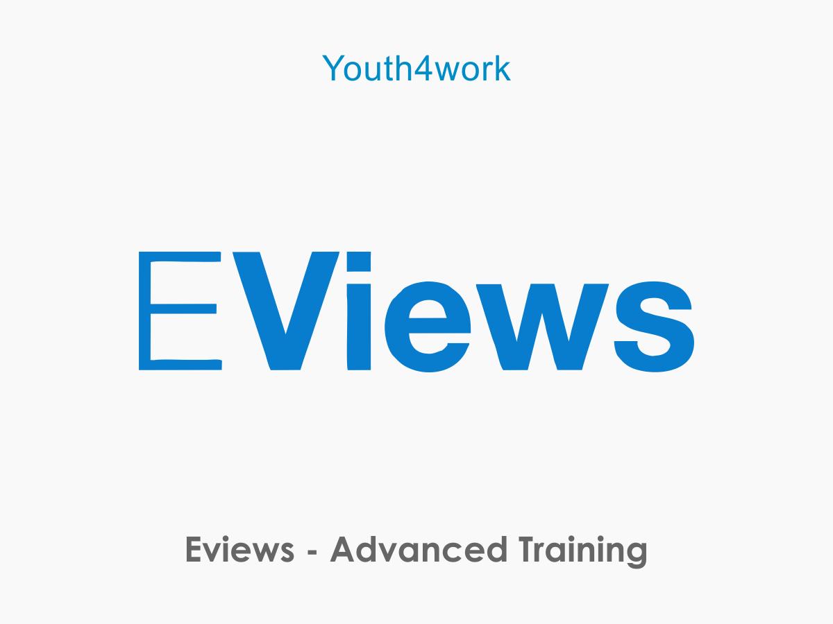 EViews - Advanced Training