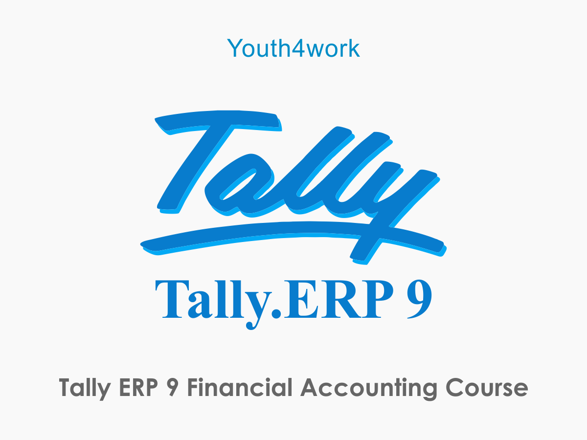 Tally ERP 9 Financial Accounting Course