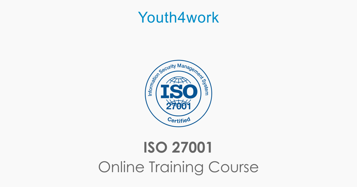 iso 27001 certification online training