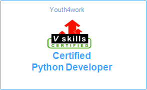 Vskills Certified Python Developer