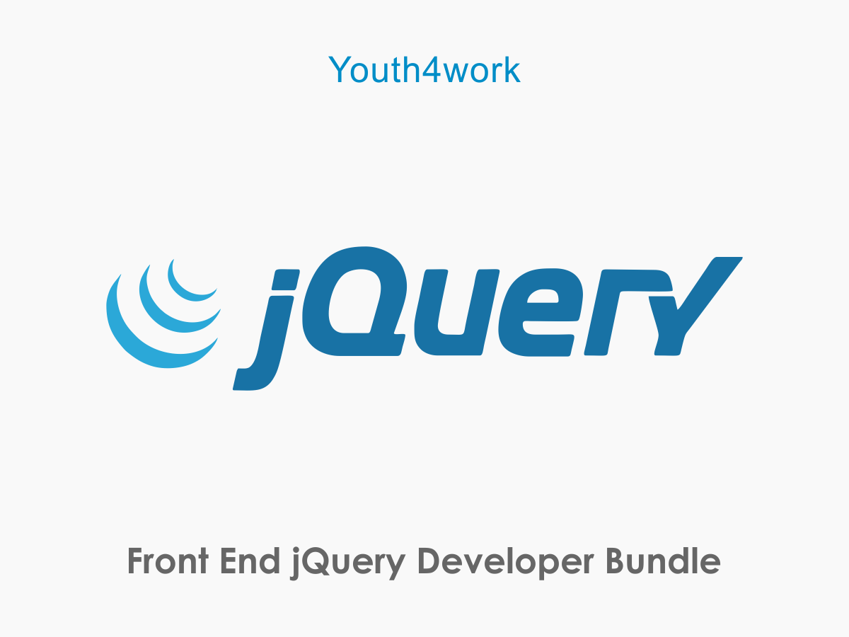 Front End jQuery Developer Bundle