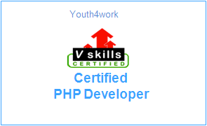 Vskills Certified PHP Developer