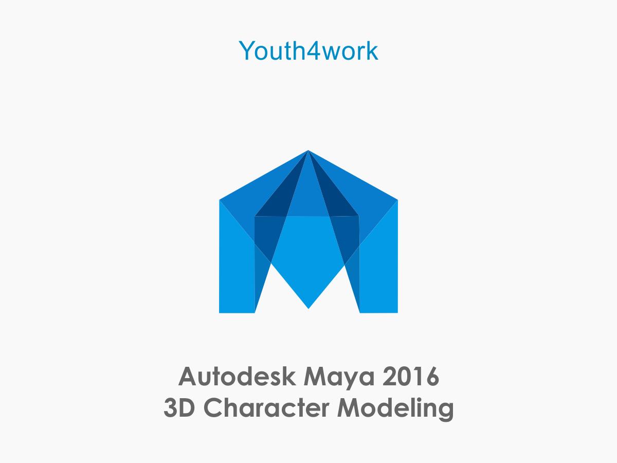 Autodesk Maya 2016 3D Character Modeling