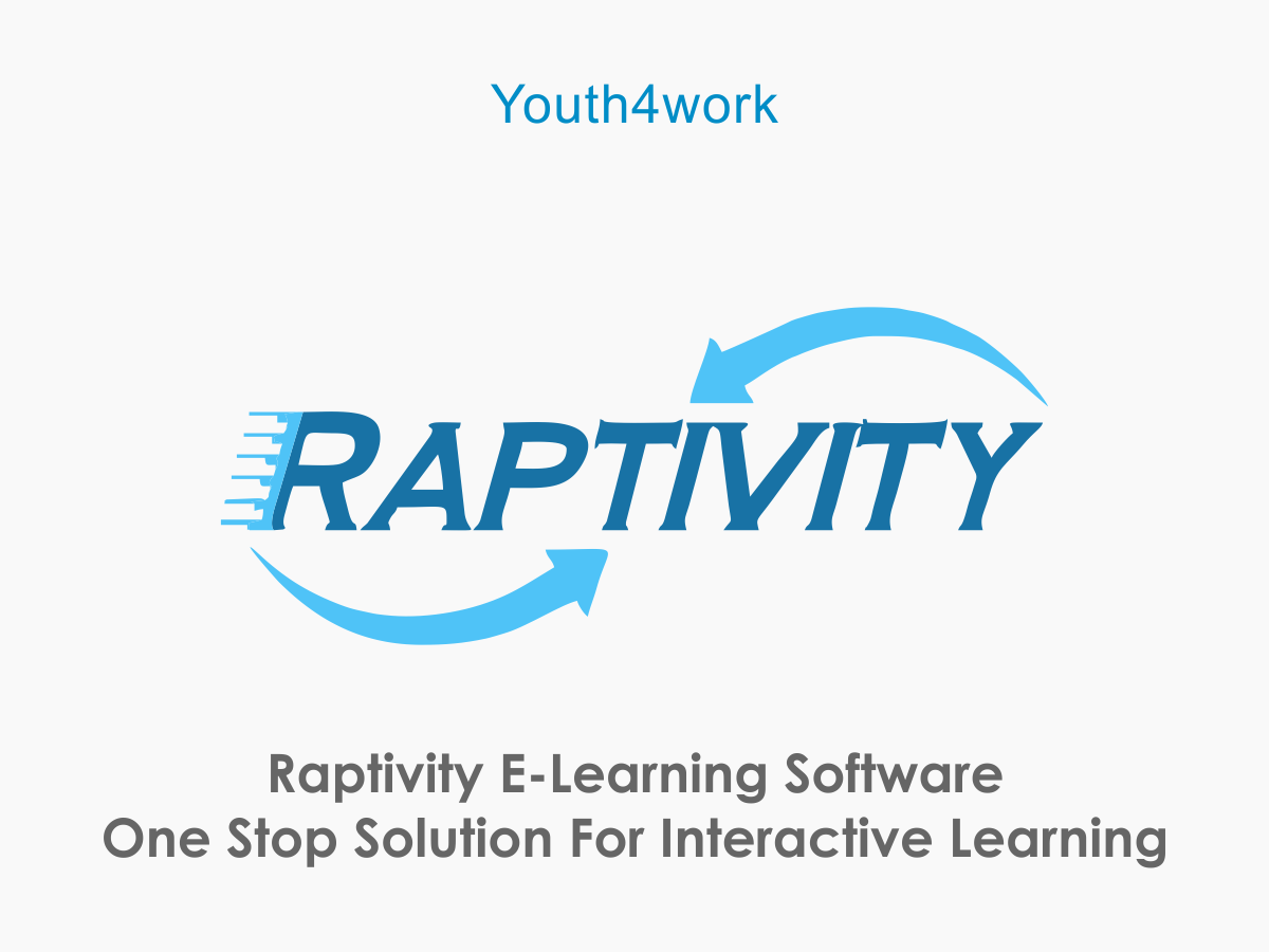 Raptivity E-Learning Software - One Stop Solution for Interactive Learning