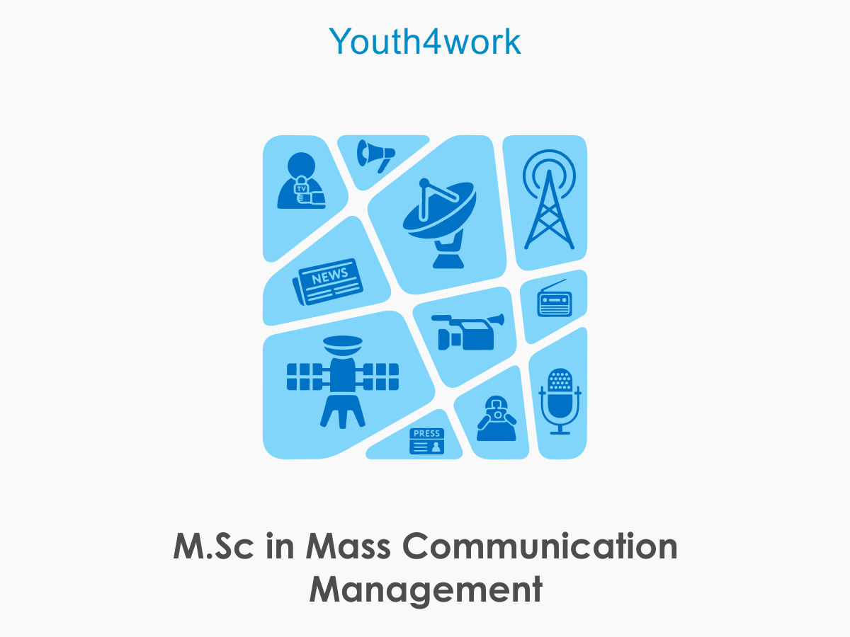 M.Sc in Mass Communication Management
