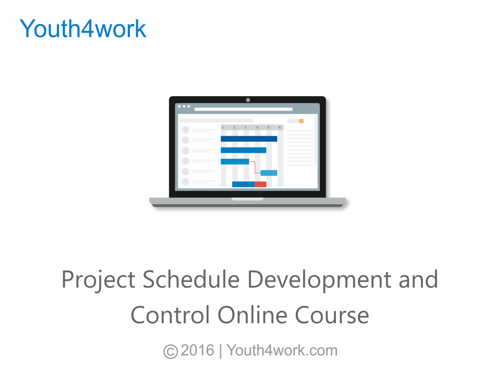 Project Schedule Development and Control Online Course