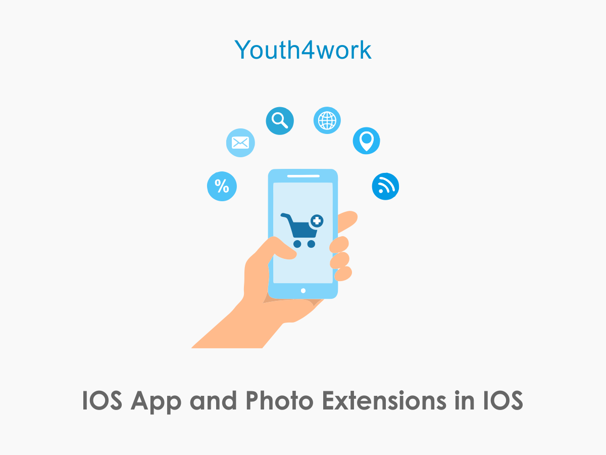 iOS App and Photo Extensions in iOS