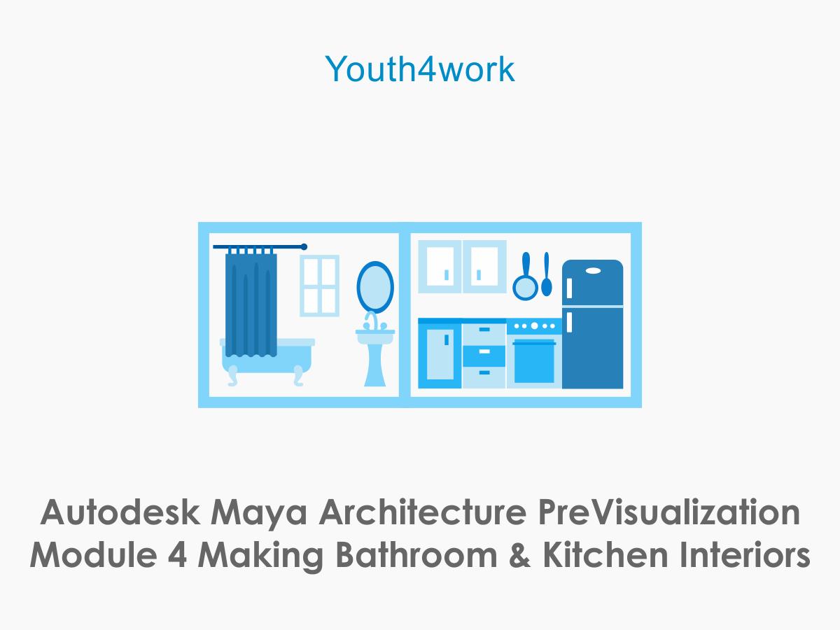 Autodesk Maya Architecture PreVisualization Module 4