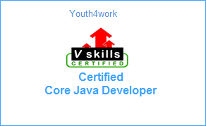 VSkills Certified Core Java Developer