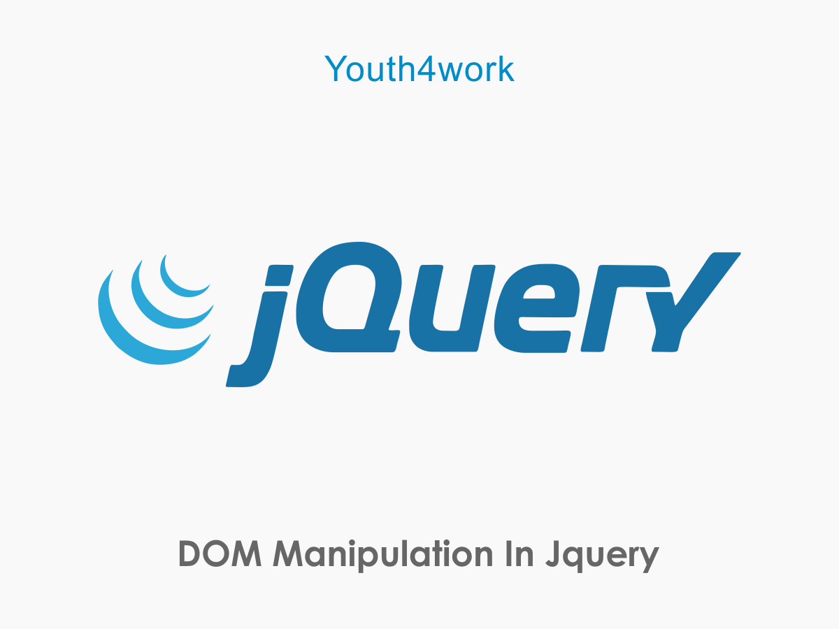 DOM Manipulation In jQuery