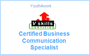 Vskills Certified Business Communication Specialist