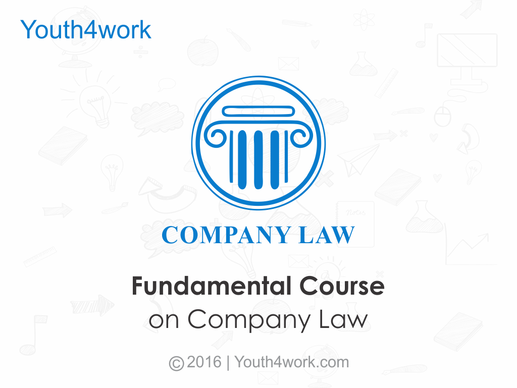 Fundamental Course on Company Law