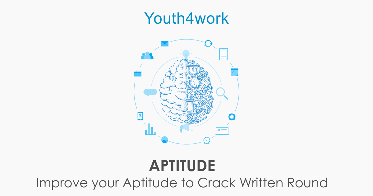 Improve your Aptitude to Crack Jobs - With Certificate