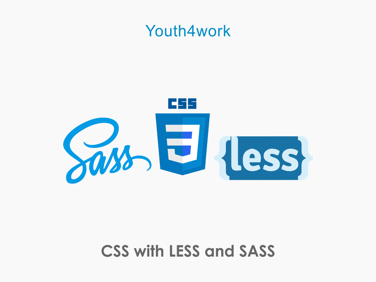 CSS using  LESS and SASS